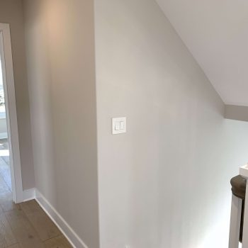 Radius Corners and Benjamin Moore Paint