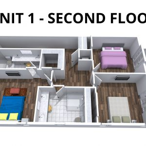 Unit 1 - 2nd floor