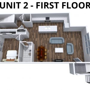 Unit 2 - 1st floor