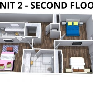 Unit 2- 2nd floor