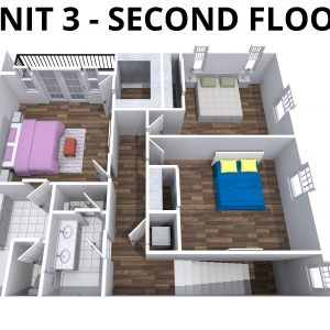 Unit 3 -2nd floor