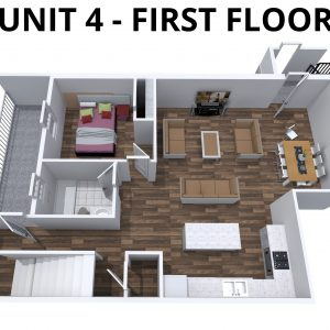 Unit 4 -1st floor