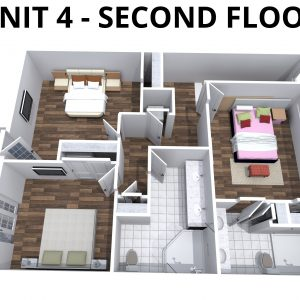 Unit 4 -2nd floor